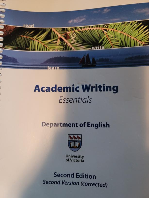 Academic Writing Essentials - UVIV 2017 Second Edition