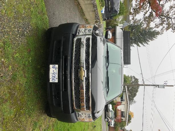 black chevy silverado