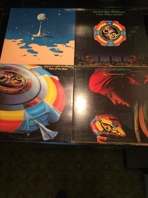 Electric Light Orchestra LP's