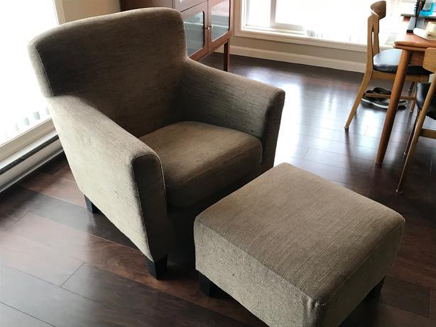 FREE: IKEA chair and ottoman