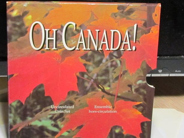 1997 Oh Canada Coin Gift Set