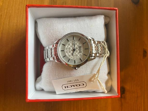 Brand New In box authentic Coach watch
