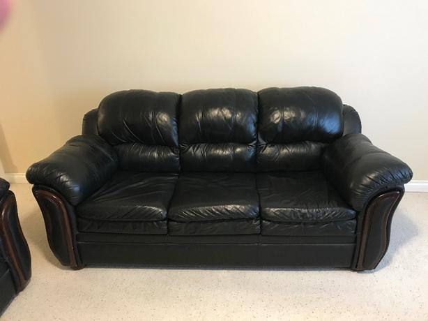 3 seat Leather Couch - can deliver