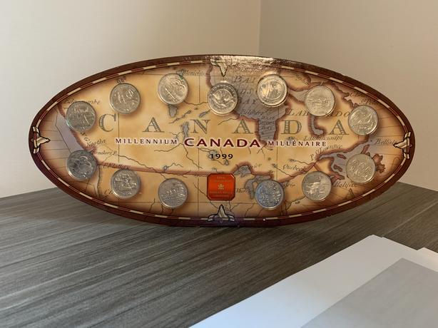 Millennium coin collection