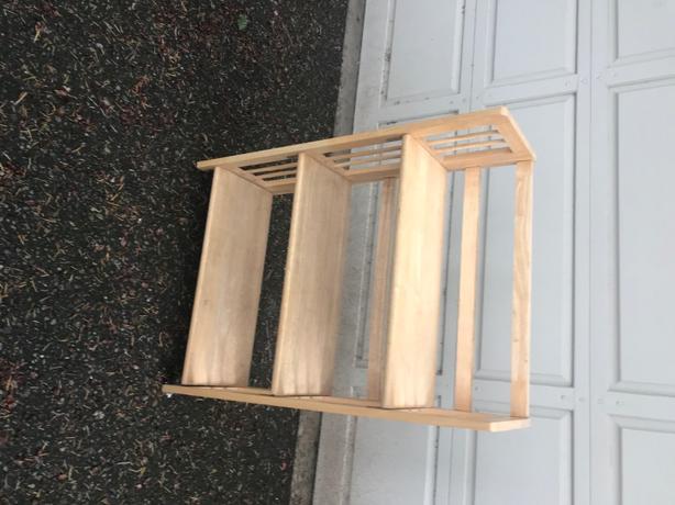 folding small bookshelf