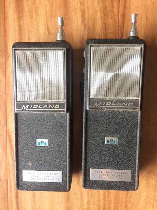 Vintage Midland transceivers