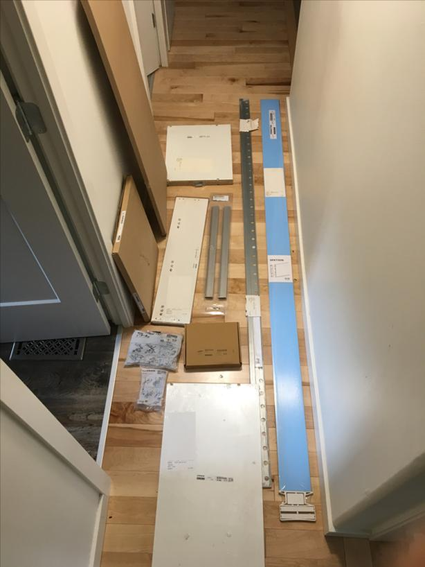 POST 1 OF 2: Unopened IKEA kitchen components! Half price!