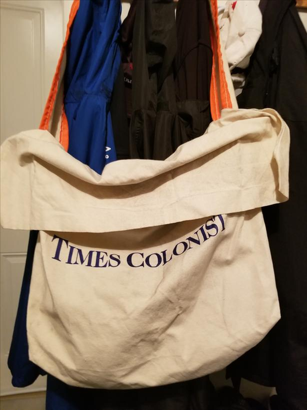 FREE: 2X Newspaper Carrier bags
