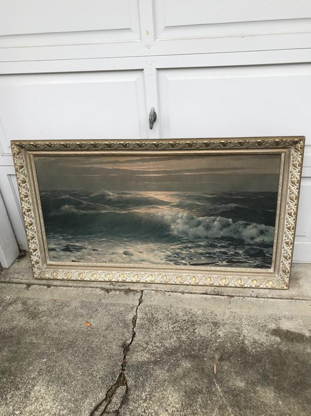 Large art/painting/print