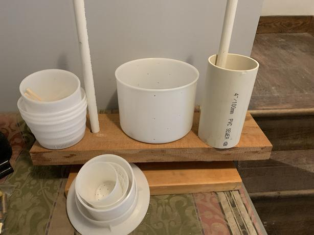 FREE: Cheese press and cheese-making supplies