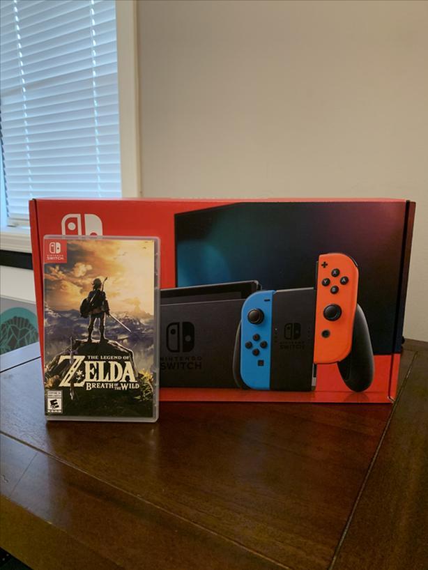 NEW Nintendo Switch + Zelda