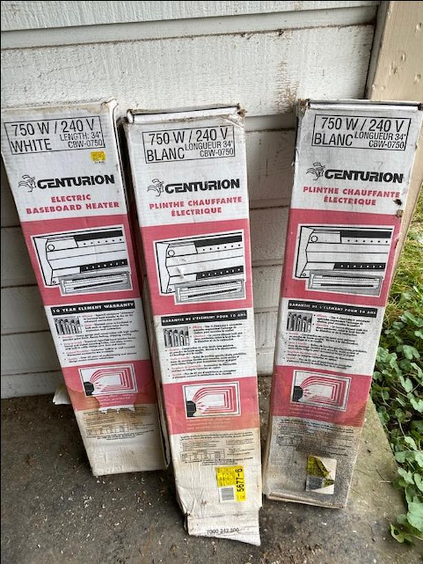 Brand new baseboard heaters