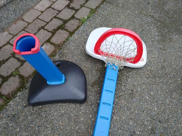FREE: Little Tikes Basketball Hoop