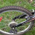 Raleigh Toro 21 speed dual suspension 16in frame