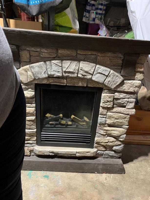 Electrique fire place