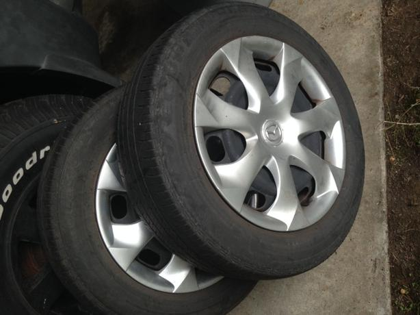 MAZDA 3 Tires and RIMS (2)
