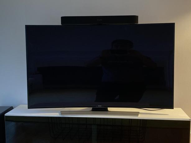Samsung Curved 55-Inch 4K UHD Smart LED TV