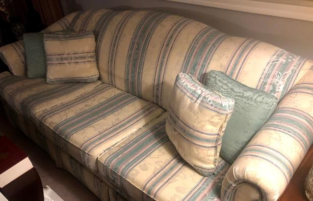 Sofa & Love Seat  - Barely Used and Comfortable