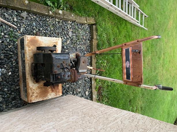 FREE: Gas Powered Rototiller
