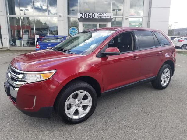 2014 Ford Edge SEL Heated Leather Seats-Back Up Camera FWD