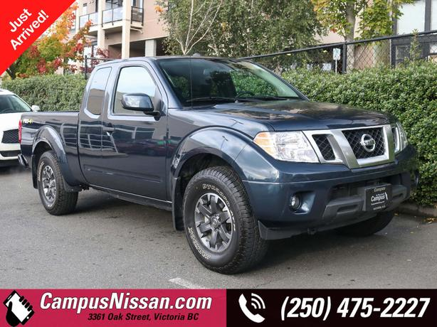 Certified Pre-Owned 2019 Nissan Frontier PRO-4X | Manual | 4WD | Claim Free | Ve