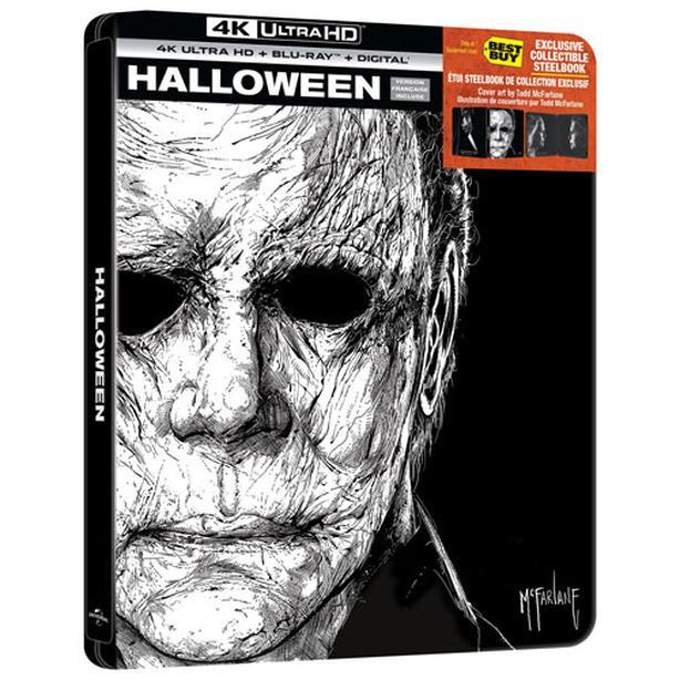 Halloween 2018 4K Steelbook/Bluray +Digital - New Unopened
