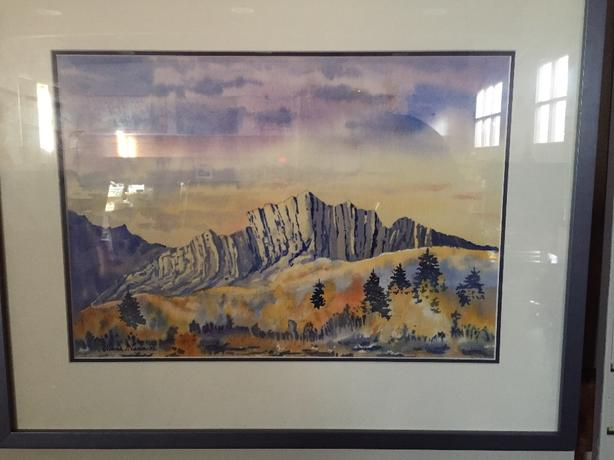Framed original painting