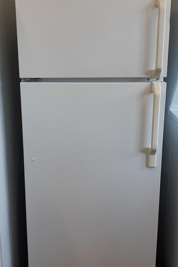 GE apartment size fridge