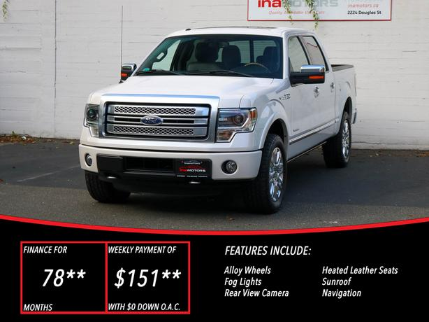 2014 Ford F-150 Platinum 4X4 - LOCAL BC TRUCK - NO ACCIDENTS!