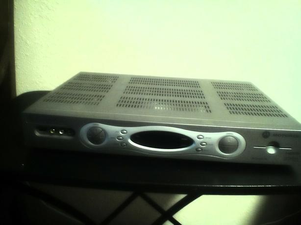 New DVR & cable TV receiver.