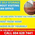 Self Storage Squamish | Lowest Price on Sea to Sky |