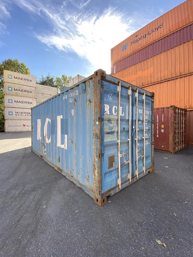 HONEYBOX - SIDNEY- used 20' shipping container - REGU153613