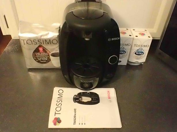 BOSCH Tassimo Coffee Maker TAS20xxUC with Coffee and Tea