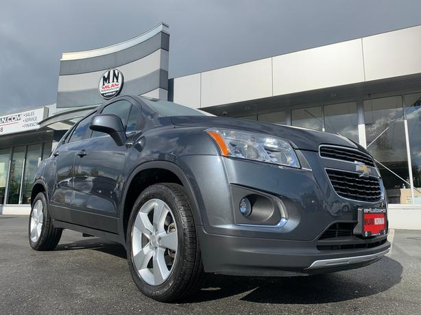 Used 2014 Chevrolet Trax LTZ AWD LEATHER SUNROOF CAMERA 77KM SUV