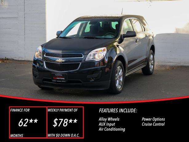 2014 Chevrolet Equinox LS AWD - LOCAL BC SUV - NO ACCIDENTS!