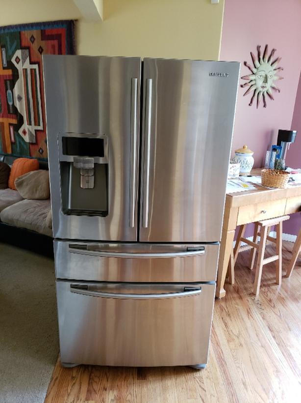 FREE: Samsung stainless steel fridge