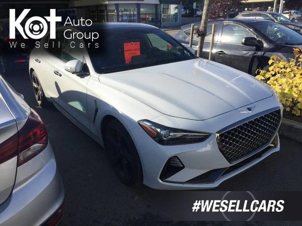 Pre-Owned 2020 Genesis G70 2.0T Sport Rear Wheel Drive Sedan