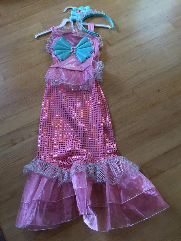 Mermaid costume size 4
