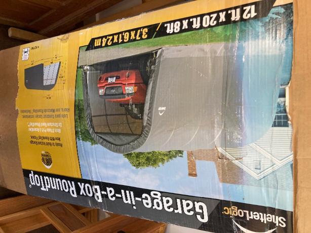 truck/car shelter.