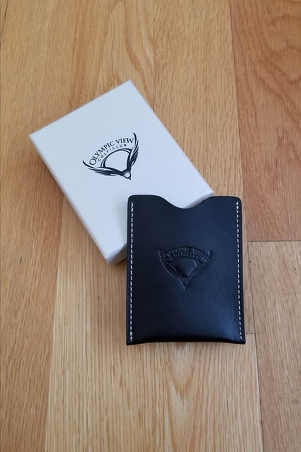 Olympic View Money Clip Wallet (BRAND NEW)