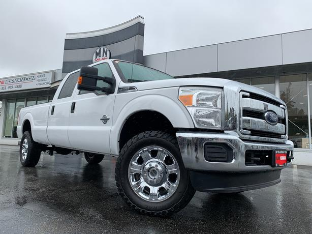 Used 2015 Ford F-350 XLT 4WD CREW LONG-BOX DIESEL ONLY 91KM Truck Crew Cab