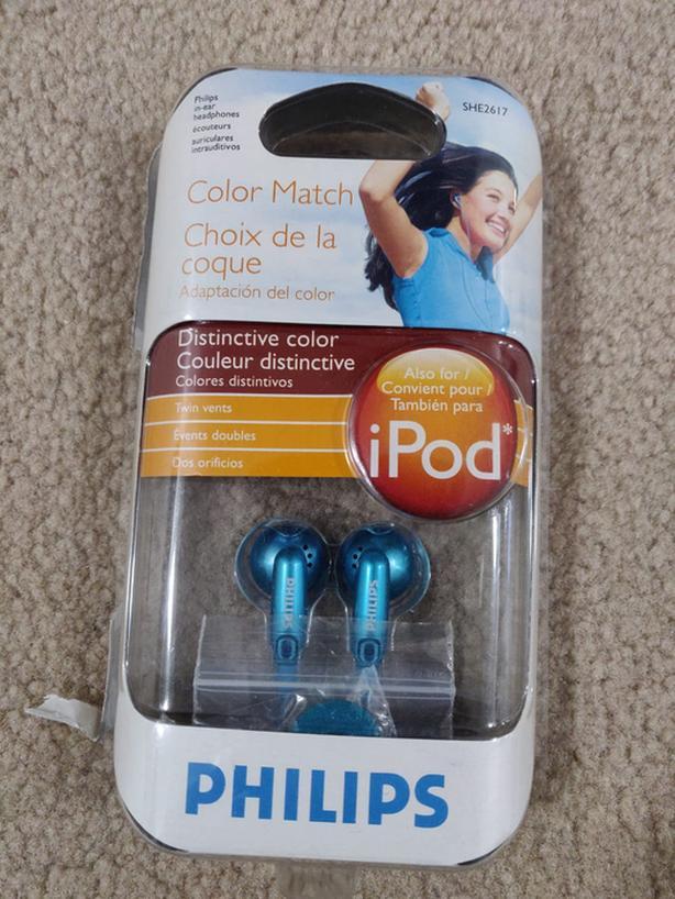 Philips in-ear headphones