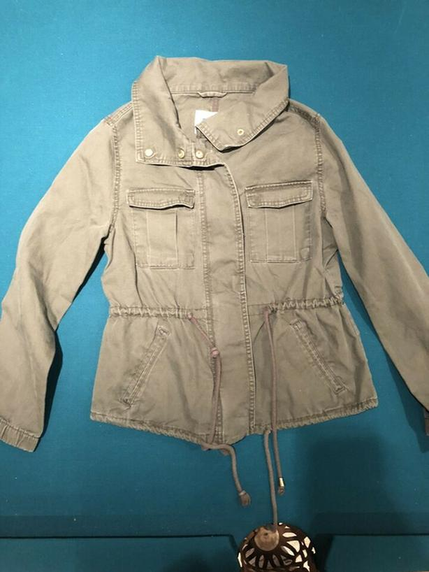 Old Navy Cotton Kelleen Military Field Jacket Size Small