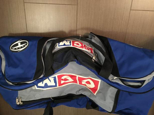 CCM hockey bag