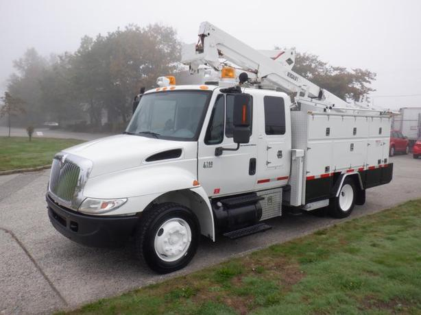 2007 International 4200 Bucket Truck Diesel Hydraulic Brakes