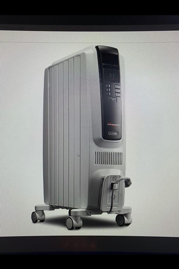 2 Delonghi TRD40615E heater