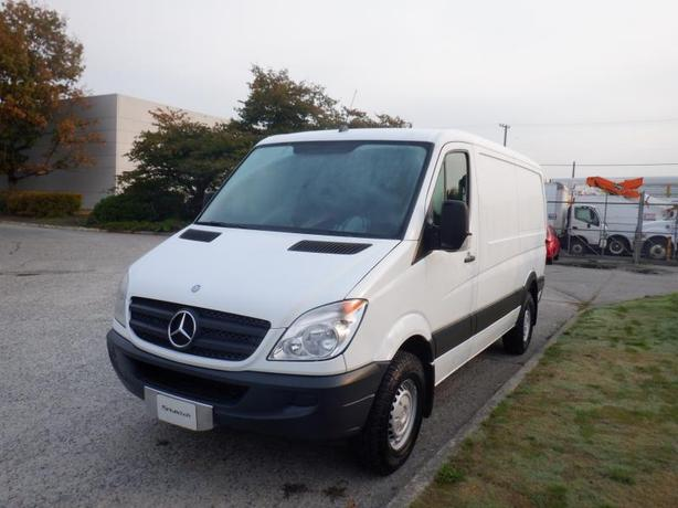 2012 Mercedes-Benz Sprinter Low Roof 2500 144-in. Wheelbase Cargo Van Diesel Wit
