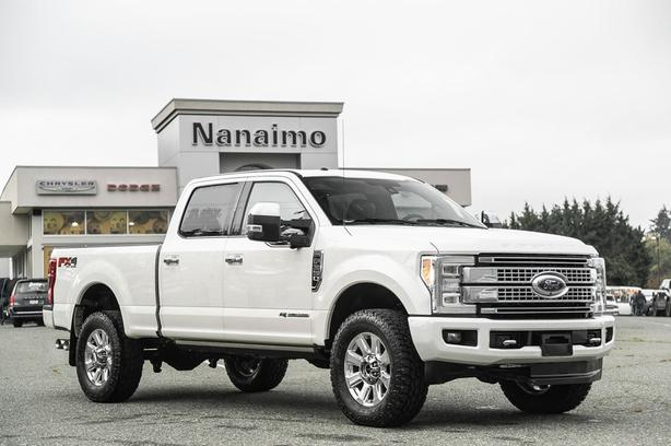 Used 2018 Ford F-350 Platinum One Owner Truck Crew Cab