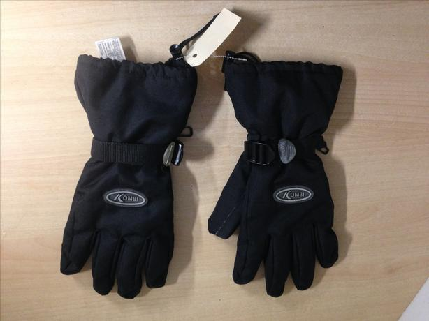 Winter Gloves and Mitts Men's Size Large Kombi Black With Liners Excellent