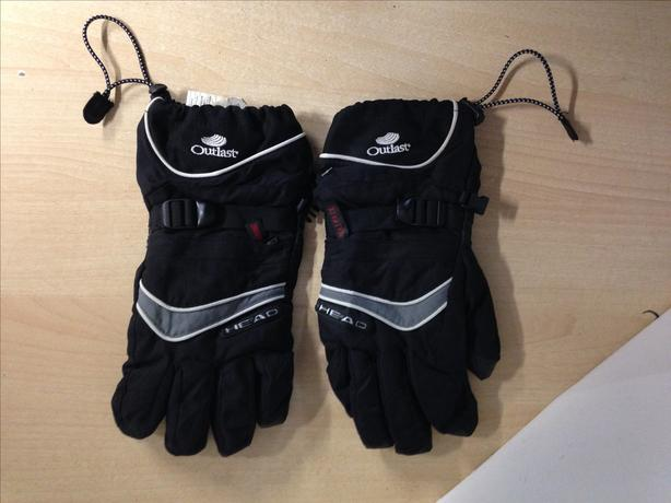 Winter Gloves and Mitts Men's Size Medium Head Black Snowboarding